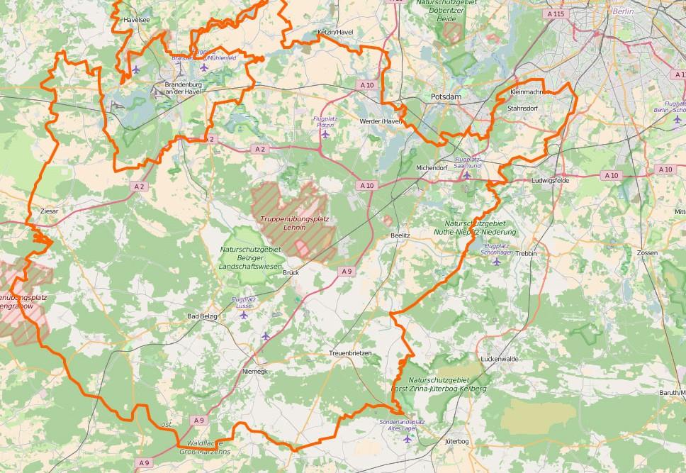 Link zu Copyright Openstreetmap