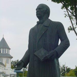 Fontane-Denkmal am Schwielowsee